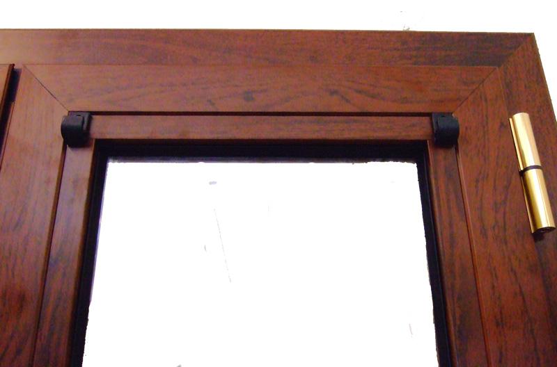 Finestra alluminio taglio termico alto isolamento - Ganci per tende finestre pvc ...