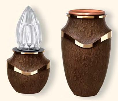 lampade per tombe,portafiori per tombe,lampade e vasi portafiori cimiteriali.