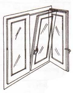 Finestre alluminio pvc produzione finestre alto isolamento for Finestra a vasistas
