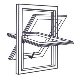 Produzione scuretti interni scuretti su finestre for Finestre a bilico verticale