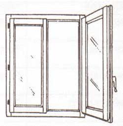 Finestre persiane alluminio e pvc due ante un 39 anta tre - Finestra a 2 ante ...