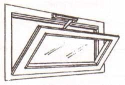 Malta per riparazioni finestra vasistas alluminio dwg for Costo porta finestra